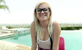 Napalona mulatka w okularach - Anya Ivy - Brazzers