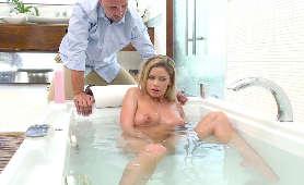 Sasha Grey -  Ostry sex analny, podwójna penetracja, przyduszanie penisem