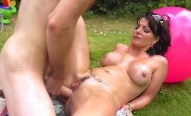 Sex Porno W Odbyt, Latynoska Amanda X